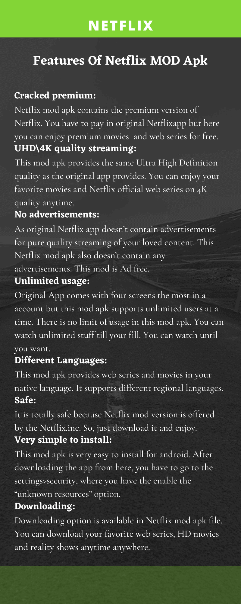 netflix infographics