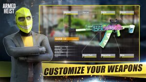 Armed Heist Mod APK (Unlimited Money, Immoratality) 1