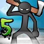 anger of stick 5 mod apk feature image