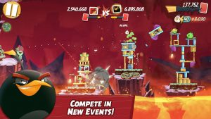 Angry Birds 2 Mod Apk [Latest Version with All Levels Unlocked] 3